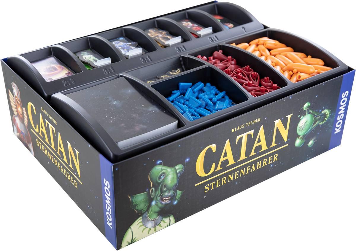 Set di schiuma Feldherr per Catan: Starfarers - scatola per giochi da tavolo