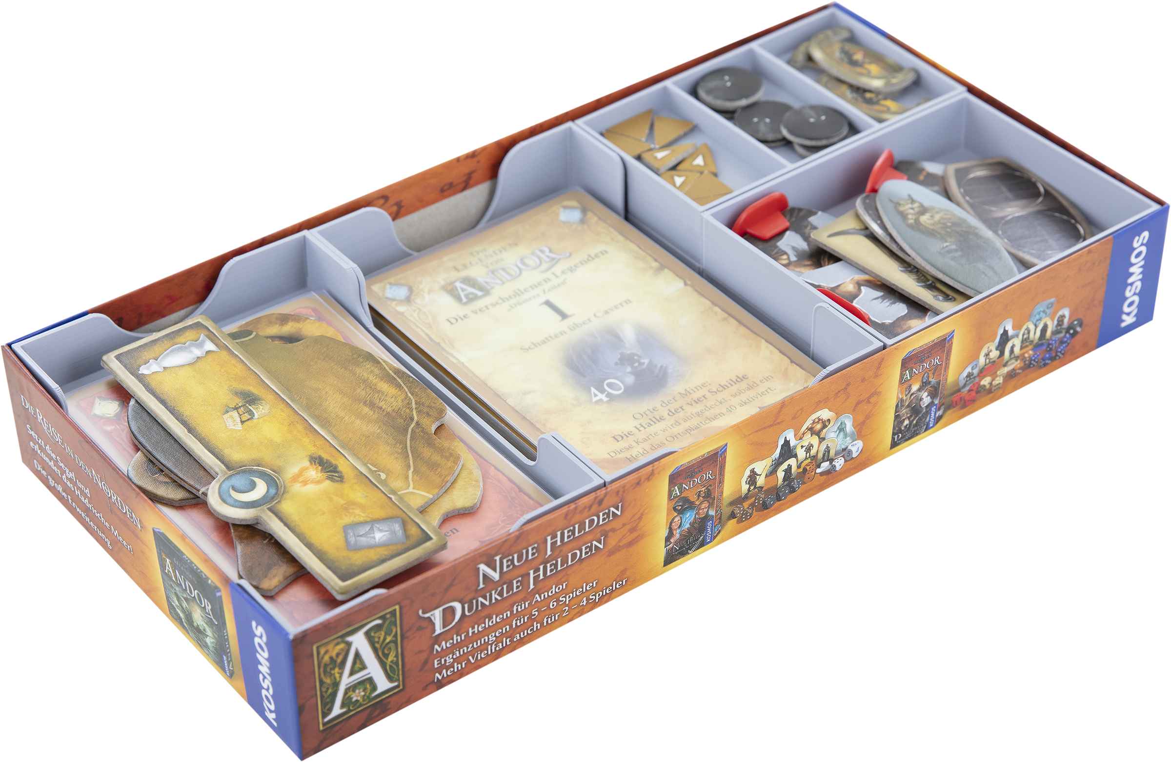Feldherr Organizer for The Legends of Andor: The Lost Legends - Dusky Times