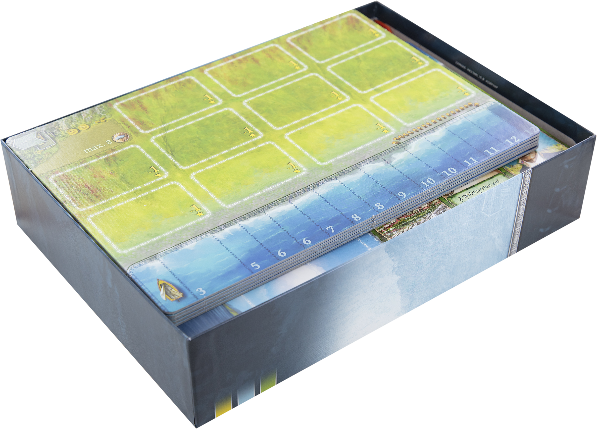 Feldherr Organizer for Nusfjord and expansion Plaice Deck