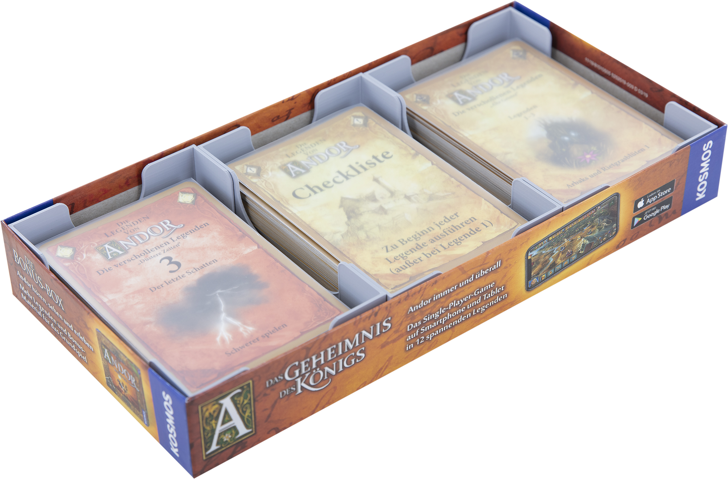 Feldherr Organizer for The Legends of Andor:Fan Legends