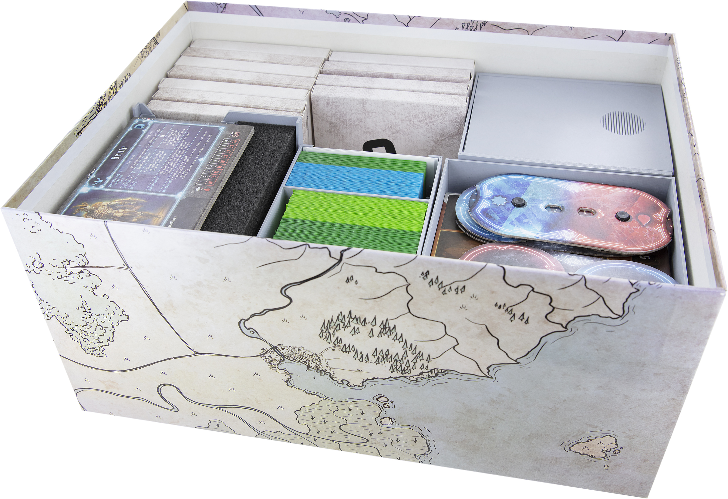 Feldherr Organizer + foam insert for Gloomhaven - board game box