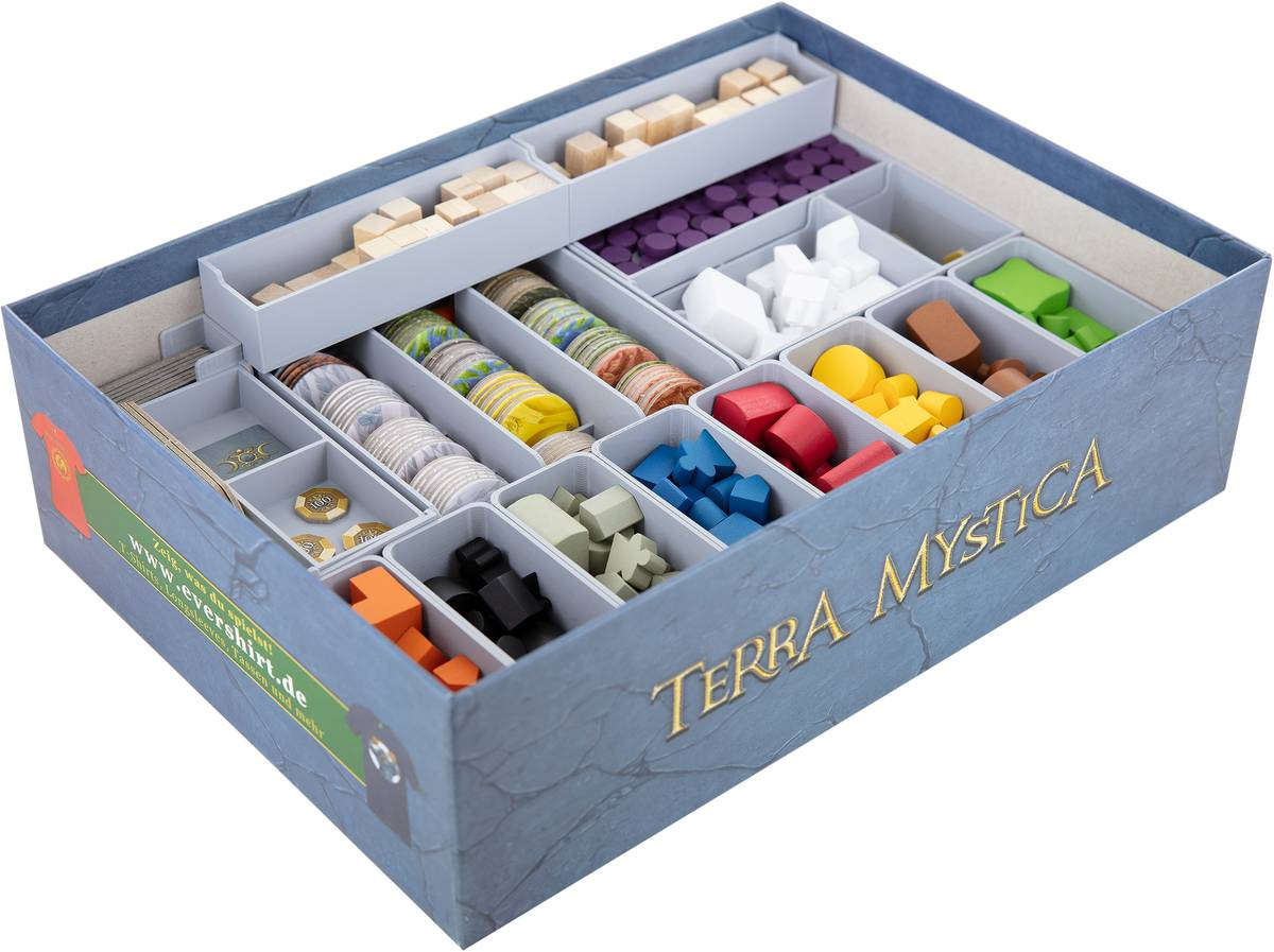 Feldherr Organizer for Terra Mystica incl. Fire and Ice expansion