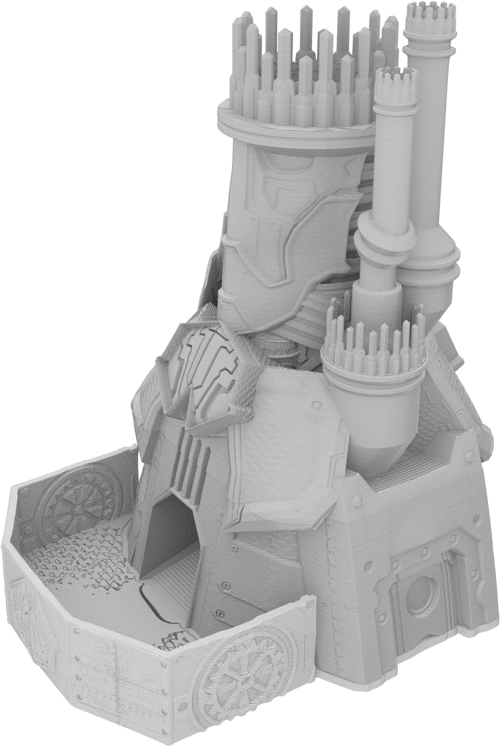 Fates End Dice Tower: Warforged Monster