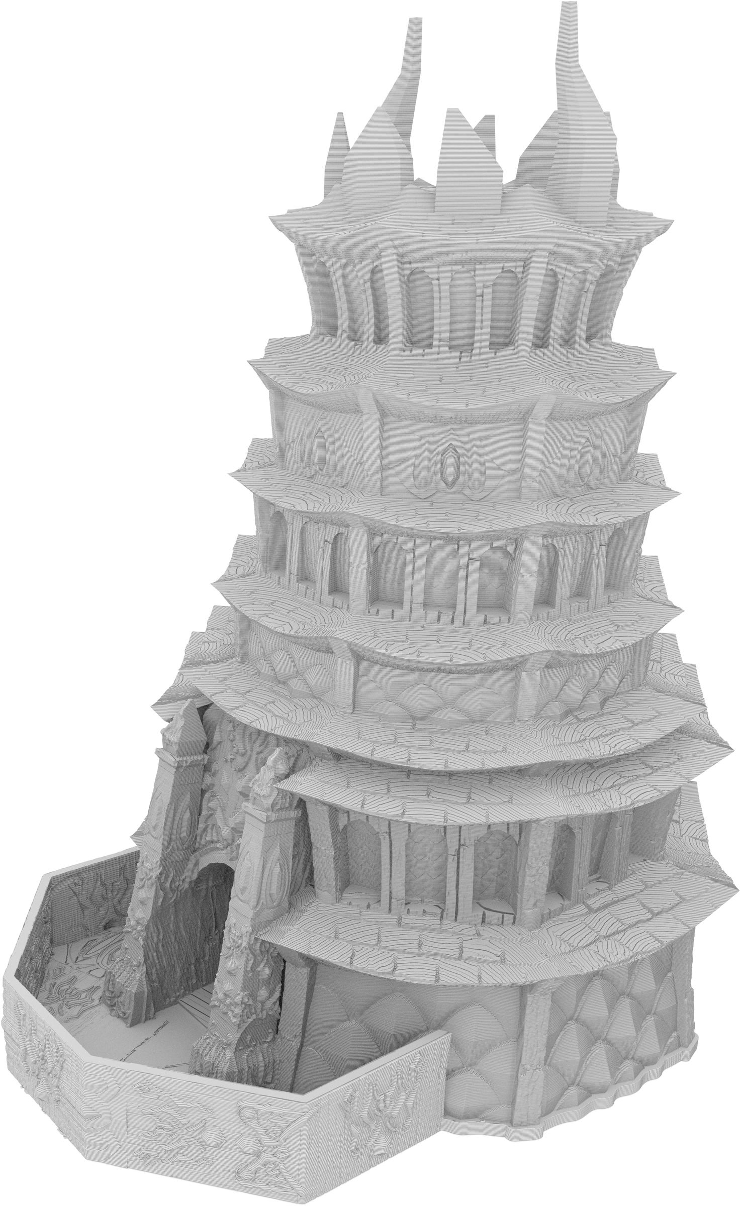 Fates End Dice Tower: Drow