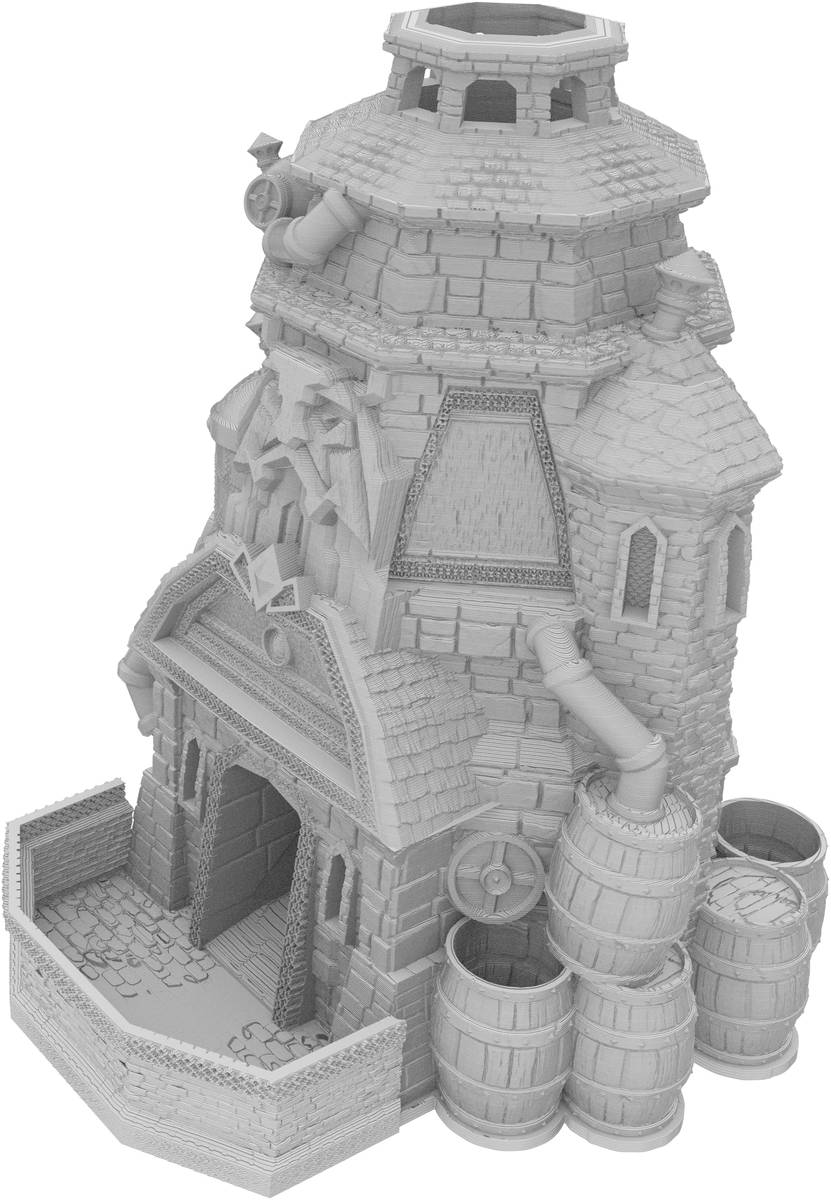 Fates End Dice Tower: Brewery