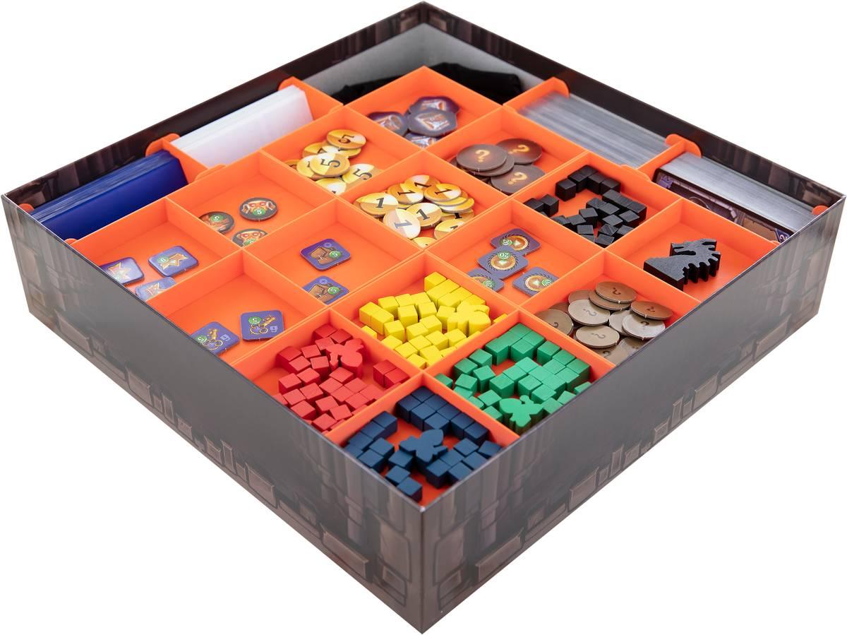 Feldherr Organizer for Clank! A Deck-Building Adventure - core game box