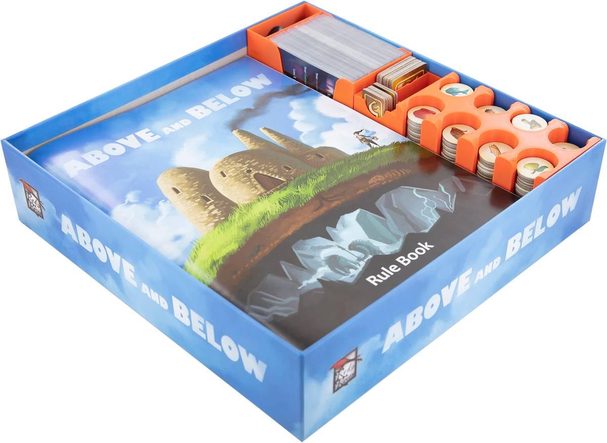 Feldherr Organizer for Above and Below - board game box