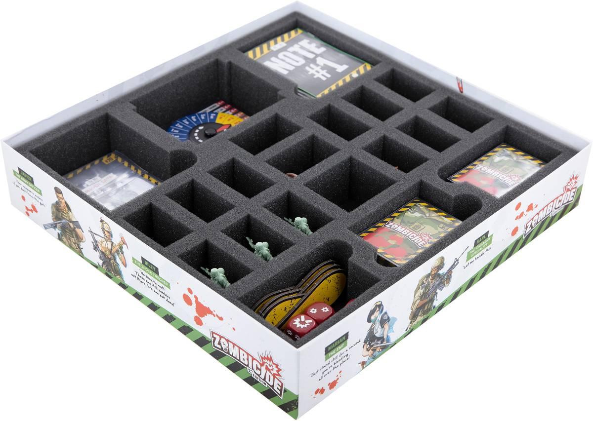 Feldherr foam set for Zombicide: 2nd Edition - Fort Hendrix - board game box
