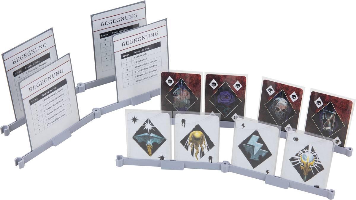 8er Pack Feldherr Kartenständer für Spielkarten