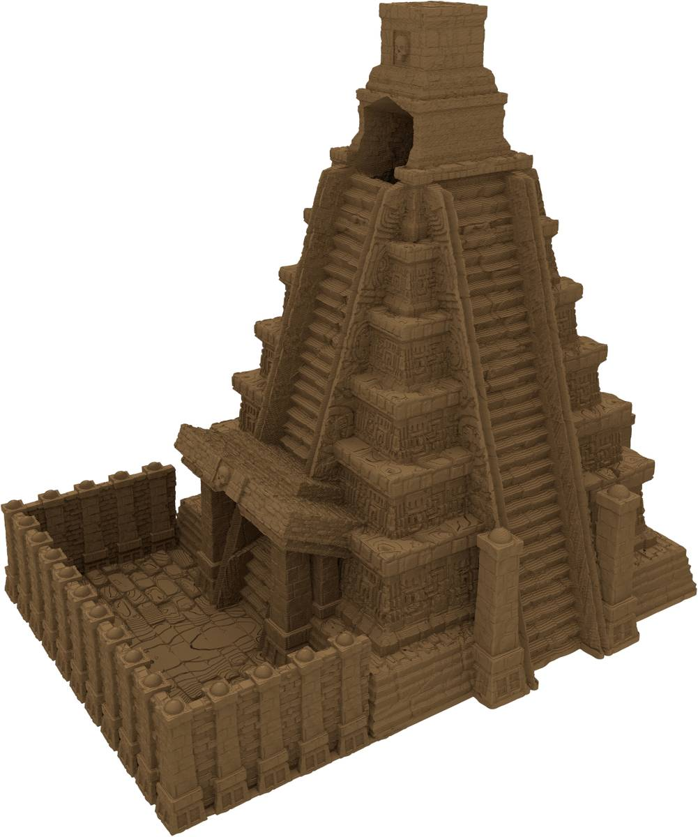 Fates End Dice Tower: Mayan