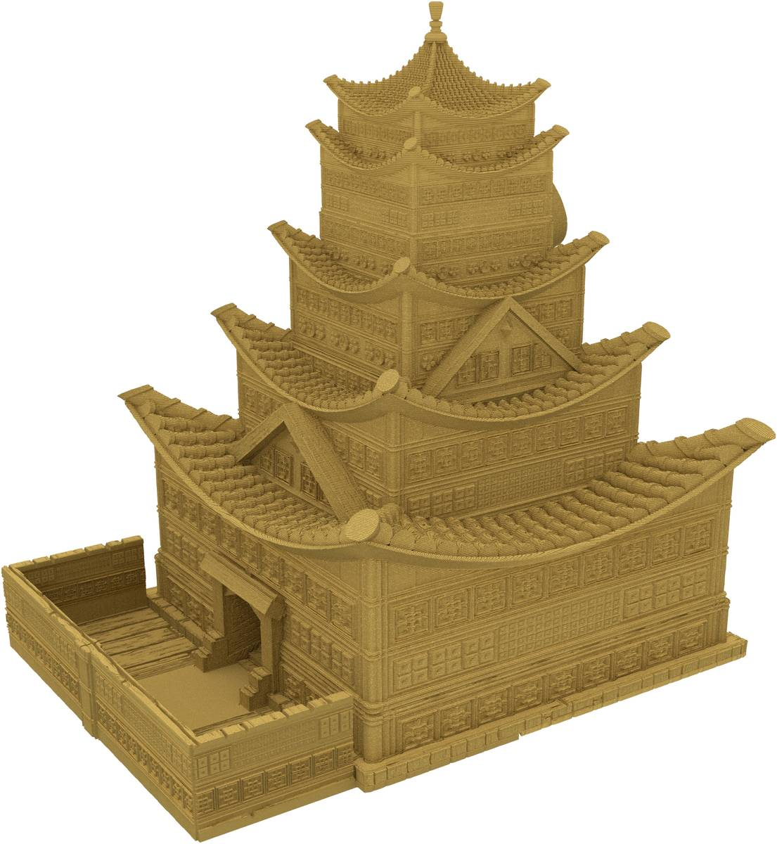 Fates End Dice Tower: Pagoda