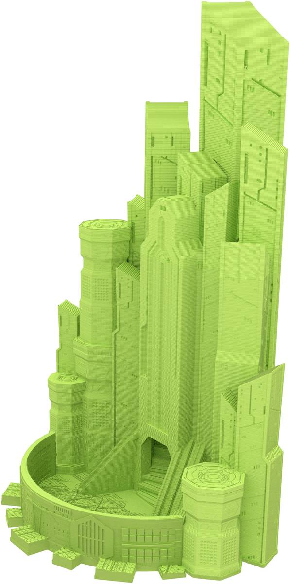 Fates End Dice Tower: Cybercity