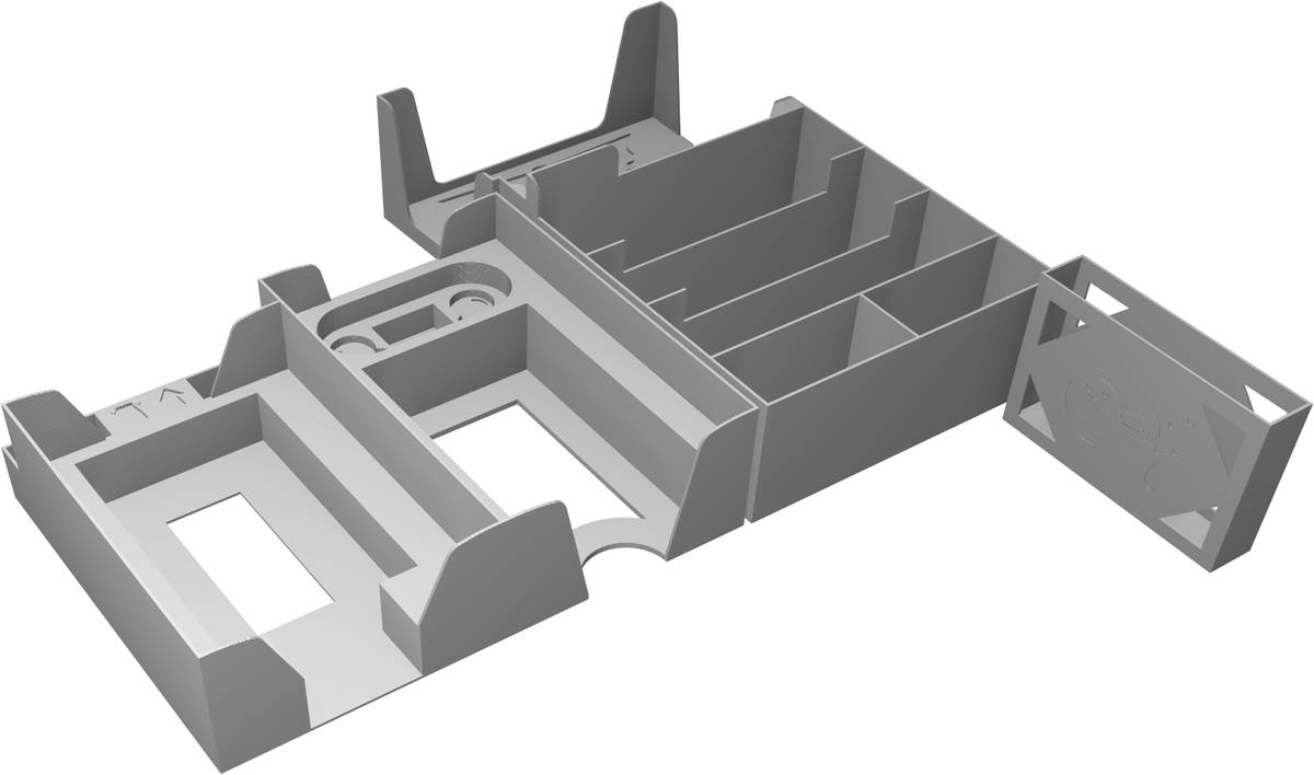 Feldherr Organizer Upgrade Set for The Quacks of Quedlinburg - The Alchemists