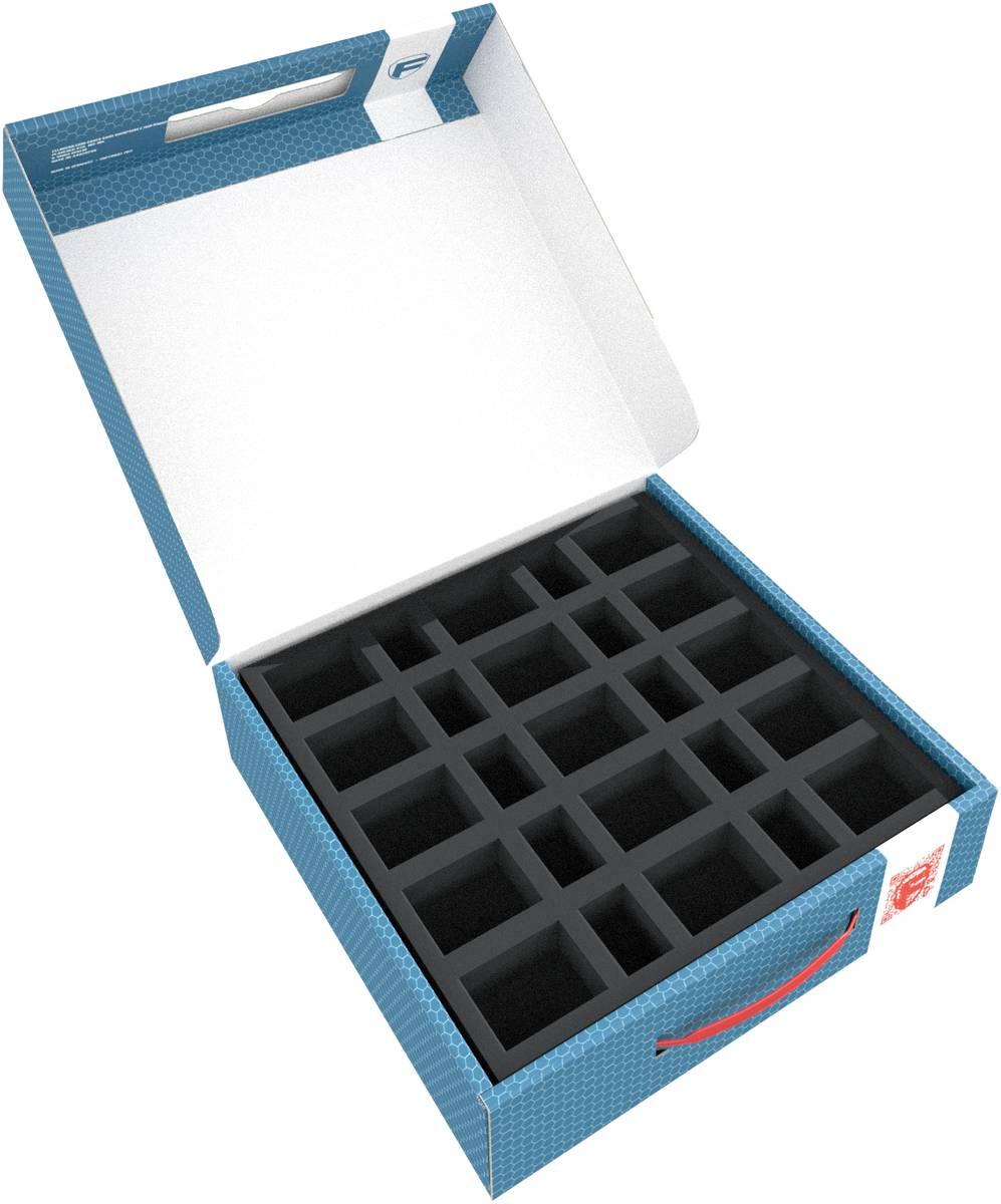 Feldherr Lagerbox LBBG075 für 50 Miniaturen mit 25 mm Bases