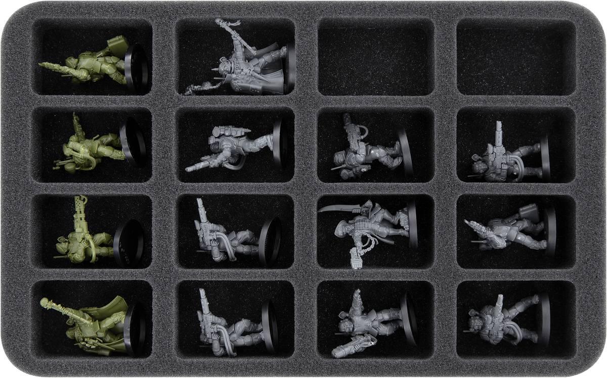 HS035A042 foam tray for Kill Team: Octarius - Veteran Guardsmen