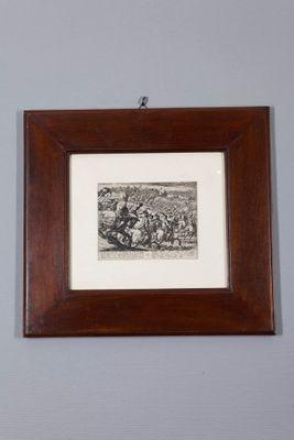 Antiker Holzschnitt von Antonio Tempesta