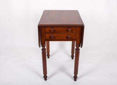 Mini Pembroke Table, Mahagoni, George IV, England um 1825