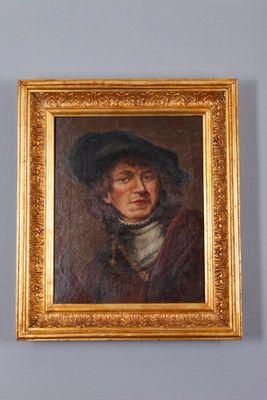 """Altmeitergemälde Portrait eines """"flämischen Adeligen"""" – Bild 1"""