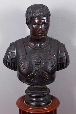 "Bronze Bust of the Roman emoeror ""Octavian"" – Bild 1"