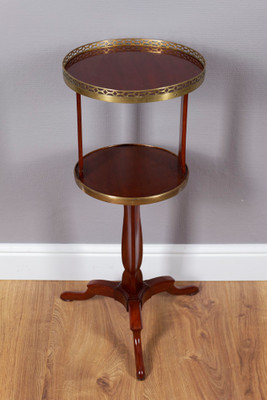 """Ètagére"", Occasional Table, Mahogany – Bild 1"
