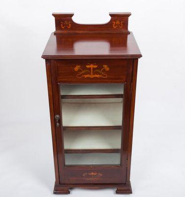 Small Display Cabinet, Art Nouveau, mahogany, England ca. 1900 – Bild 1