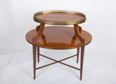 Serving Table in the Louis XVI-Style, Mahogany, France ca. 1900
