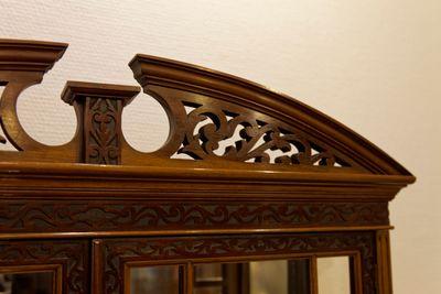 Display Cabinet, Mahogany – Bild 3