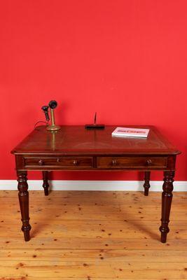 Writing Table, George IV, Mahogany – Bild 2