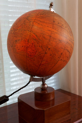 Illuminated Art Deco Globe – Bild 6