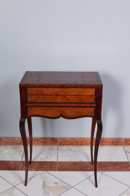 Inlaid Games Table in the Louis XV-Stil
