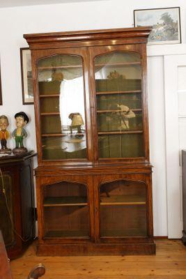 Library Bookcase, Mahogany, William IV