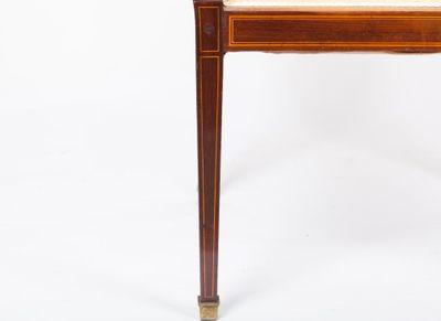 A fine quality inlaid Armchair, Mahogany, Edwardian, England ca. 1900 – Bild 6