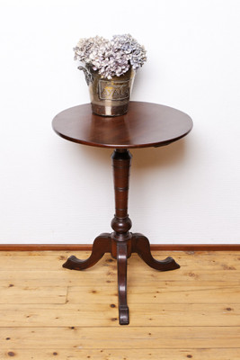 """Tripod Table"", Mahogany, Victorian"