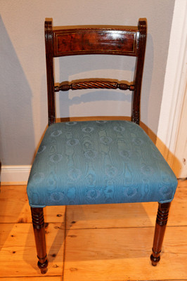 Rope Back Chair, Mahoganyi, Regency