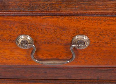 A rare and small Bureau Cabinet, Mahohany, George IV,England ca. 1830 – Bild 9