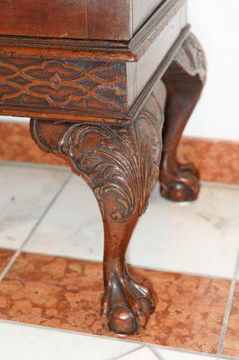 Irish Glazed Two Door Cabinet, Mahogany – Bild 2