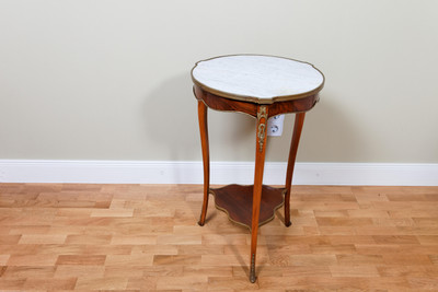 """Gueridon"" Occasional Table in the Louis XV-Style, Mahogany"