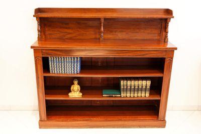 Open Bookshelve, George IV, Mahogany – Bild 1