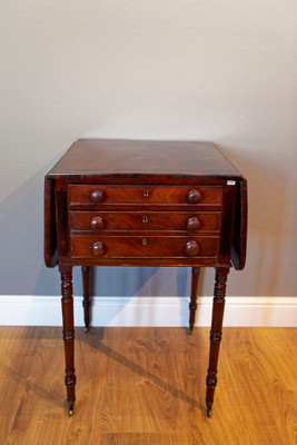 """Pembroke Table"", Regency, Mahogany – Bild 1"