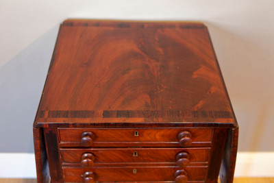 """Pembroke Table"", Regency, Mahogany – Bild 2"