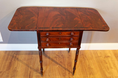 """Pembroke Table"", Regency, Mahogany – Bild 4"