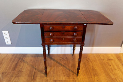 """Pembroke Table"", Regency, Mahogany – Bild 5"