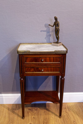Side Stand in the Louis XVI-Style, Mahogany – Bild 1