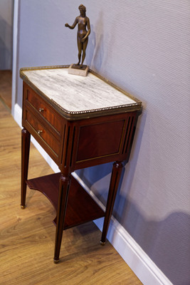 Side Stand in the Louis XVI-Style, Mahogany – Bild 4