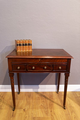 Small Writing- or Halltable in the Louis XVI-Style, Mahogany