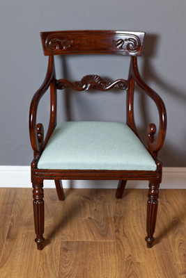 Carver Chair, William IV, Mahagoni