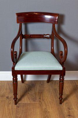 Carver Chair, George IV, Mahagoni – Bild 1