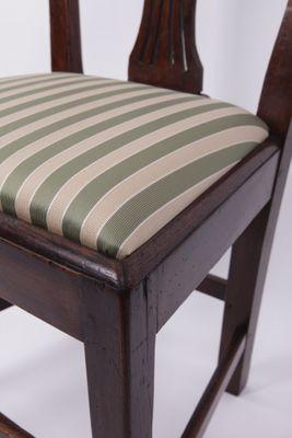 Hepplewhite Sidechair, Oak England ca. 1800 – Bild 3