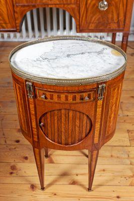 "Side Cabinet, so called ""Chevez"" , Louis XVI, Rosewood – Bild 1"