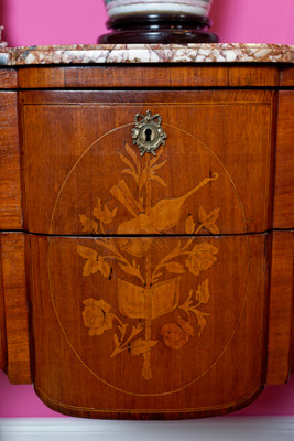Inlaid Chest of Drawer's in the Louis XV-Style, Rosewood  – Bild 2